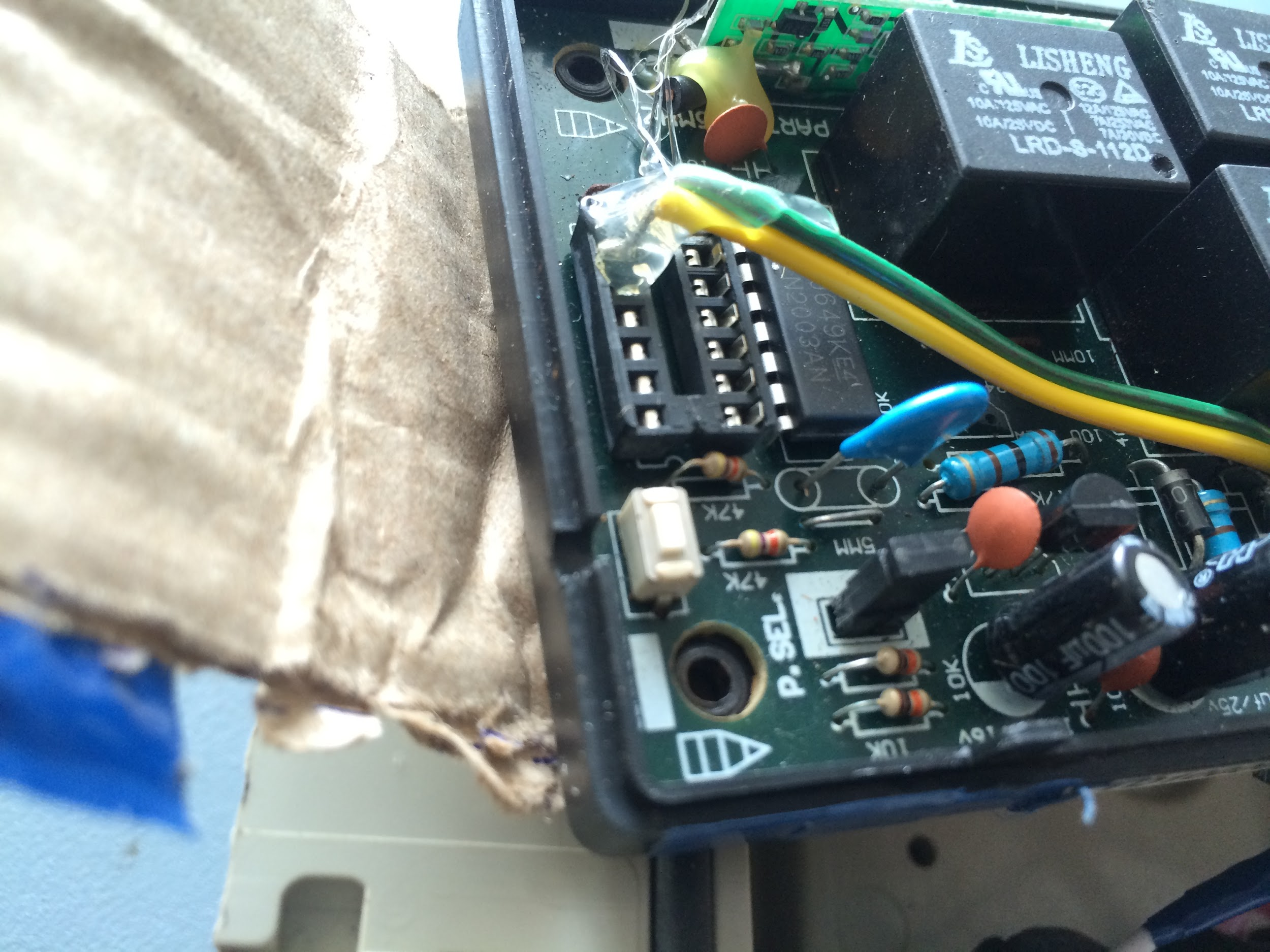 Jishnu Menon Portfolio Download Image Darlington Pair Amplifier Circuit Pc Android Iphone The Pic Controlled Relay With Ic S As Current Driver I Removed From Mount And Soldered A Piece Of Wire Each